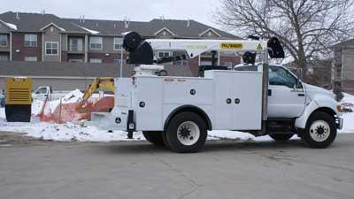 Truck service package