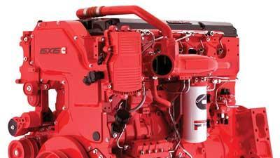 EPA-compliant emergency vehicle engine