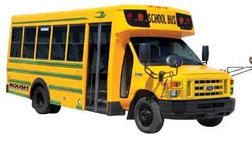Liquid propane passenger bus