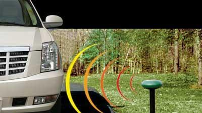 Wireless driveway monitors