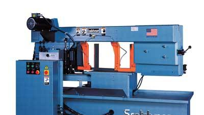Swing head band saw