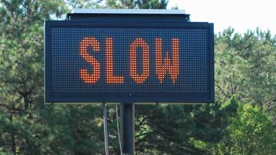 Traffic message signs