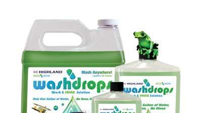 Wash and shine product