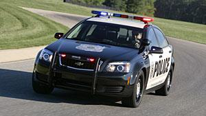 Chevrolet's new Caprice police vehicle scores highly in driving tests