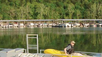 Accessible kayak and canoe launch
