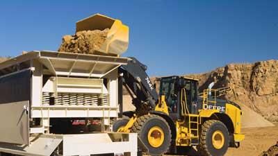 Diesel loader