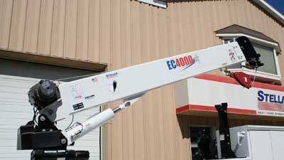 Electric/hydraulic cranes