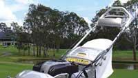 Efficient mower