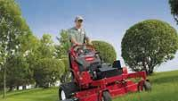 Stand-on mower