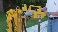 Vertical utility drill