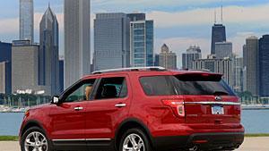 Ford 2011 Explorer designed for many government tasks