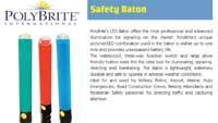 LED safety wand