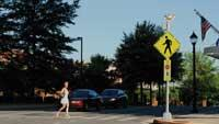 Wireless solar crosswalks