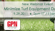 Webinar shows how to minimize turf equipment downtime