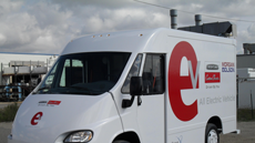 Fleets: get an all-electric van for the cost of a diesel-powered commercial model