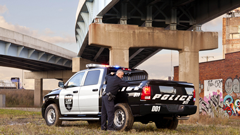Versatile truck will appeal to police and other government agencies
