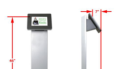Affordable kiosks ensure ADA compliance in government facilities