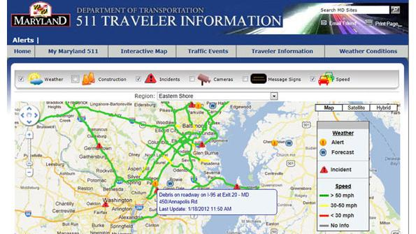 Maryland launches 511 service