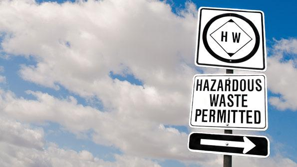 Contracting for hazardous waste disposal