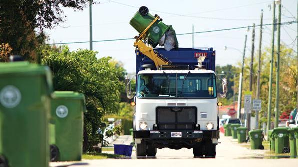 Hydraulic Hybrid Garbage Trucks Save Miami Fuel And Money