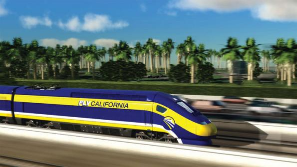 California bullet train on track
