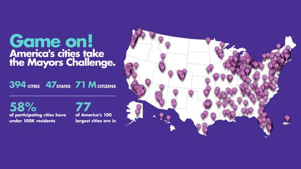 Bloomberg Mayors Challenge draws cities large and small