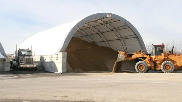 County contains highway salt supplies in a hurry