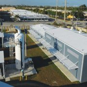 Photo of Dania Beach, Florida's water plant expansion