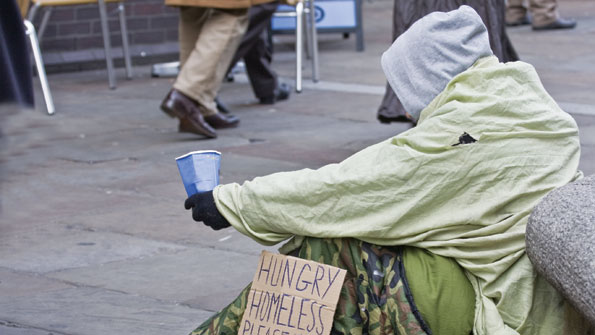 The homeless crisis