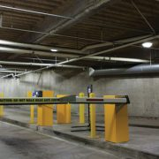 Photo of Oakland's Dalziel Garage retrofit lighting installation