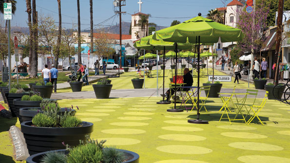 Los Angeles uses creativity to gain much-needed park space