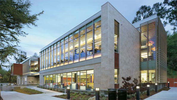 Library is beacon of green design