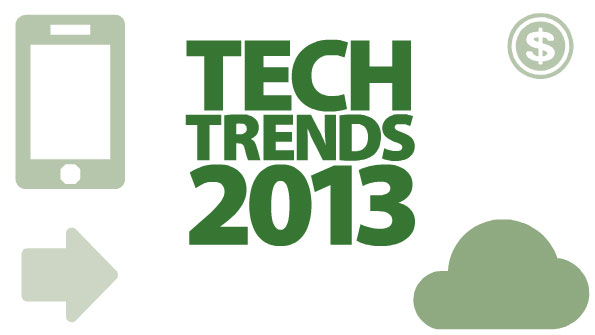 Tech trends 2013 illustration