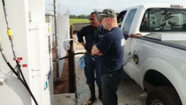 Waste disposal district harnesses methane
