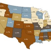 Federal Spending as a Percentage of State GDP