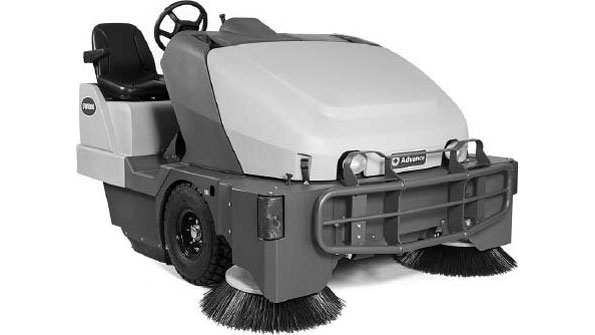 SW8000™ Rider Sweeper