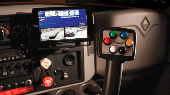 'Smart' spreader technology helps Iowa DOT with winter weather resources