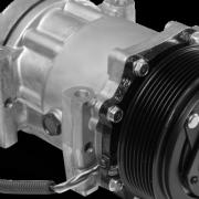 An Alliance Truck Parts AC compressor for trucks
