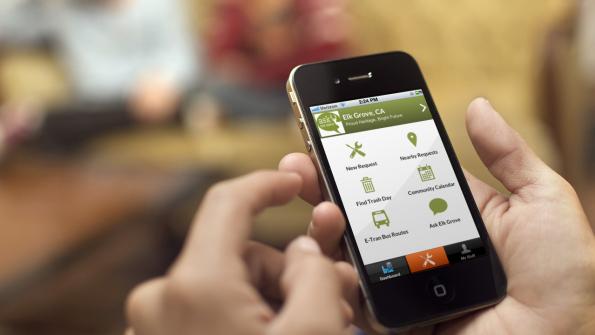 Smart cities use smart phones