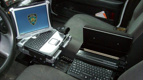 Automatic license plate scanners store data for law enforcement