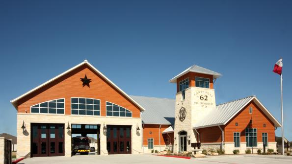 Lone Star State fire station has a rustic look (with related video)