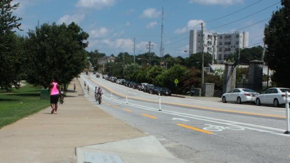 New cycle track a step forward for Atlanta's alternative transportation