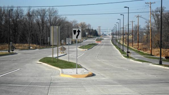 Intersection renovation