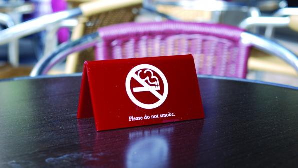 Outdoor smoking bans not backed up by science