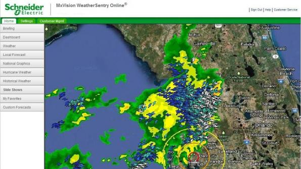 Web tool sounds alarm when severe weather is approaching (with related video)