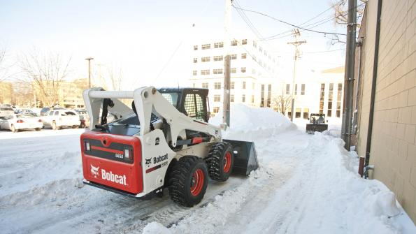 Compact equipment and attachments provide solutions for snow removal (with related video)