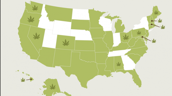 Marijuana debate highlights differences between feds and states