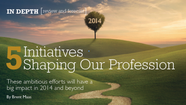 Five initiatives  shaping our profession