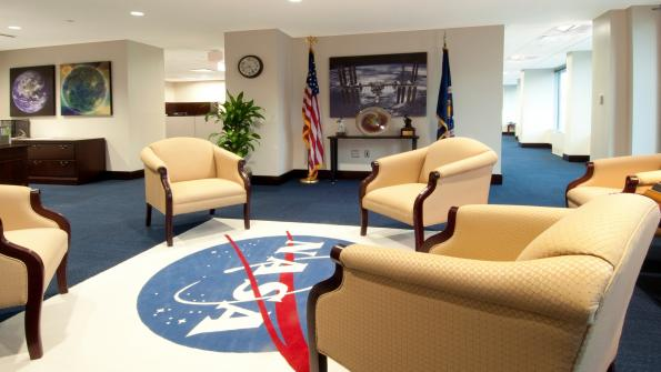 Federal agency headquarters gets energy-saving lighting (with related video)