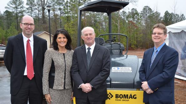 New facility for BOMAG in South Carolina (with related video)